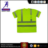 High Visibility Safety Traffic Reflective T-Shirt