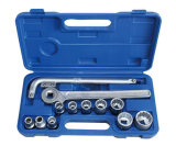 "13PCS 1/2"" 12.5mm Series Hand Tool Socket Wrench Set"