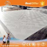 595X595mm Gypsum False Plasterboard Ceiling Panels