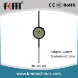 0-100mm Dial Indicator with 0.1mm Graduation