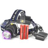 2000lm Xml T6 LED Headlamp Headlight 2X 18650 Battery EU AC Charger for Fishing LED Head Light Torch