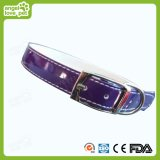Fashion Rivet Double Leather Big Pet Collar (HN-CL542)