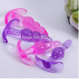 2 Colors Silicone Sex Toys Anal Plug for Adult