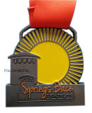 Customized Souvenir Medal, Sprints Back, Triathlon at Cross Creek Ranck
