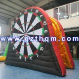 Human Rental Inflatable Football Darts/Inflatable Dart Board for Football Game