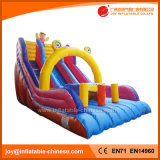 Giant Rainbow Double Lane Inflatable Slide for Amusement Park (T4-222)