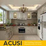 Hot Selling U Style Solid Wood Kitchen Cabinet Kitchen Furniture (ACS2-W10)