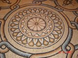 Marble Water Jet Pettern Mosaic Medallion for Home/Hotel Decoration Flooring Tile