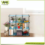 Eco- Friendly Space Saving Wrought Iron Storage Shelf Metal Rack