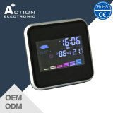 Digital Colorful LCD Household Weather Station Alarm Clock with Temperaute