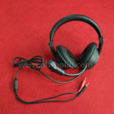 3.5mm Plug Language Lab Headphone with Mic
