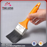 """2"""" High Quality Black PBT Material Head with Yellow Plastic Handle Painting Brush"""