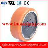 Ep Electric Forklift Polyurethane PU Drive Wheel 254X95mm