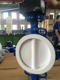 Full PTFE Coating Wafer Type Butterfly Valve with Ce ISO Wras Approved (CBF04-TA01)