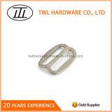 Antique Nickel Double Loop Slider Metal Strap Slider Buckle