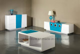 Modern Wooden UV High Gloss TV Cabinet with Speaker (Sea 204)
