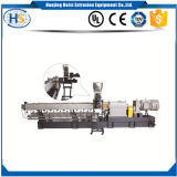 LED Plastic Recycling Granulator Extrusion Air Cooling Line