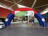Giant Inflatable Dual Arch for Advertising