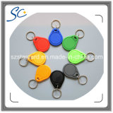 Printable Factory Price 13.56MHz RFID Key Tag/Key Ring/Keyfob with Customized Logo