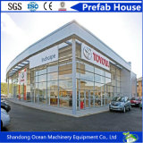 Prefabricated Large Span Steel Structure Building for Workshop Warehouse Shopping Mall Show Room Poultry Shed