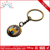 Key Holder Souvenirs with Glass Bead and Photo