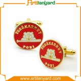 Customized Craft Gift Promotional Metal Cufflink