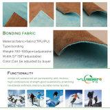 Breathable Waterproof TPE TPU PU Laminated Polyester Bonded Fleece Softshell Fabric