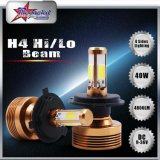 COB LED Headlight with Fan for Cars Motorcycles Hi/Lo Beam