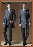Long Sleeves Tuxedo 3 Piece Wedding Dress Men Suits