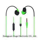 2015 New Stereo Water-Proofing Earphone with Mic (OG-EP-6504)