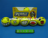 """Promotion Stress 4"""" PU Faces Ball Toys (891932)"""