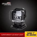 "7"" Remote Light 50W White Color LED Search Light (SM2109)"