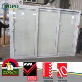 UPVC Sliding Door with Blinds Glass