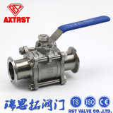 Pn63 Clamped Ends 3PC Ball Valve