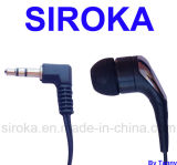 PVC/ABS/TPE Stereo Earphone with No Speaker