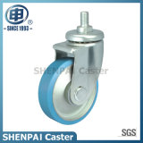 Steel Core Nylon Threaded Stem Swivel Castor Wheel