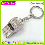 Boosin Exported Custom 3D Whistling Keychain Crystal Whistling Keychain for Sale #105253