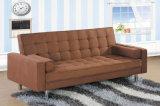 Modern Home Furniture Living Room Fabric Sofa Bed (HC519)