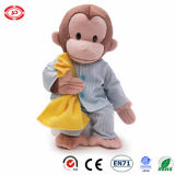 Baby Care Lovely Plush Monkey Animal with Cloth Quality Toy