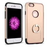 Electroplate Phone Case with Ring Holder for iPhone 7/7 Plus
