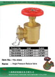 "Pressure Reduce Angle Hydrant Valve: F1-1/2""NPT~1-1/2"" Bsp&NPT&Nh"