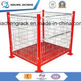 Warehouse Heavy Duty Powder Coated Foldable Wire Mesh Bin