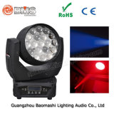 19*10W RGBW LED Wash Moving Head Light with Zoom