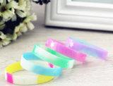 Culorful Design Silicone Glow Bracelets