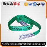 Cargo Lifting Webbing Sling Safety Factor 7: 1, 6: 1, 5: 1