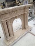 Clean Marble Fairplace Design, Fairplace Style, Marble Carving