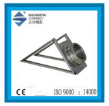 Ce Stove Chimney Pipe Support Wall Base & Trigonal Bracket