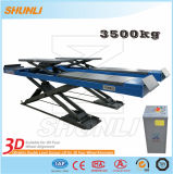 3.5 Tons Car Lift with Alignment Wheel Function