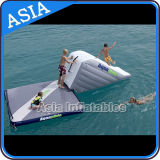 Wholesale Inflatable Floating Dock Gymnastic Mat Floating Island with Handles