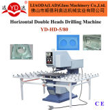 Manufacturer Supperly Horizontal Drilling Glass Hole Machine